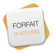 Forfait 10 ateliers