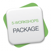 5 workshops package