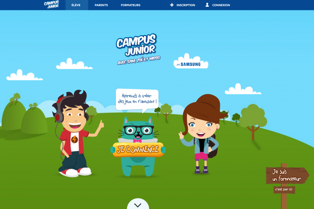 Tech-Kids-Academy-le-campus-junior-samsung