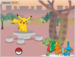 Scratch Pokemon chase