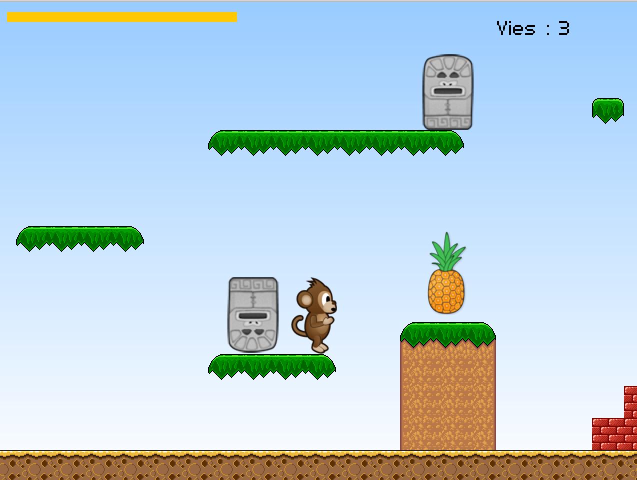 Stencyl monkey run