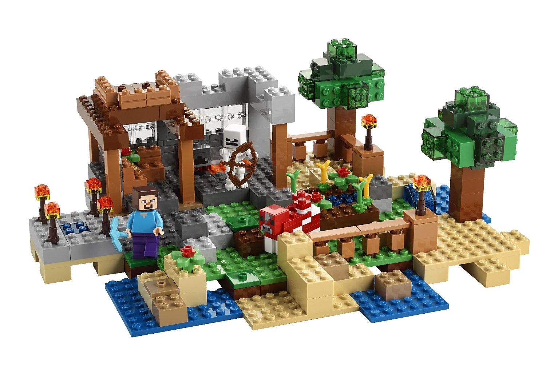 Atelier stop motion lego minecraft