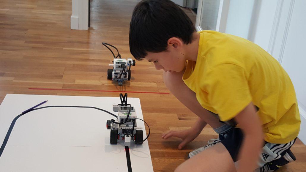 Stage robotique Lego Mindstorms