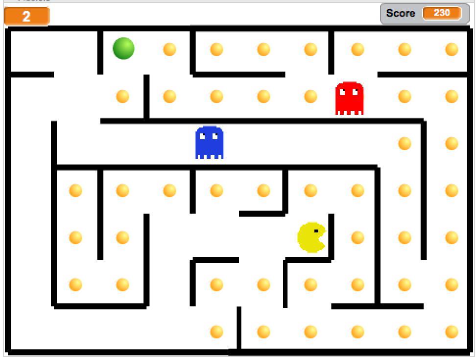 Scratch Jeu Pacman