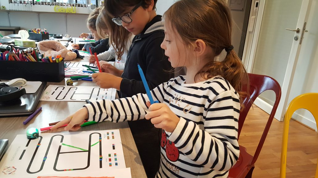 Ateliers hebdos 7-9 ans - Robot Ozobot