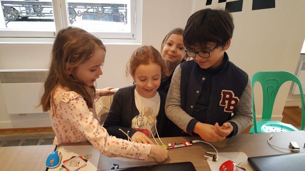 Ateliers hebdos 7-9 ans - Little bits