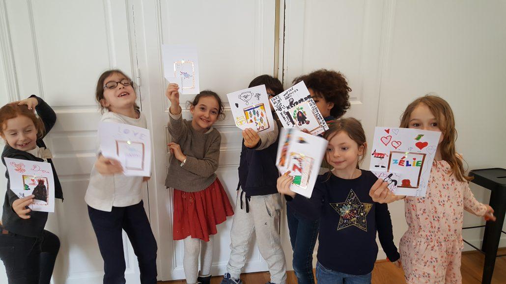 Ateliers hebdos 7-9 ans - Carte électronique