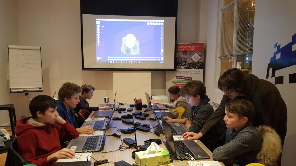 Ateliers hebdos 13-17 - 3D Slash