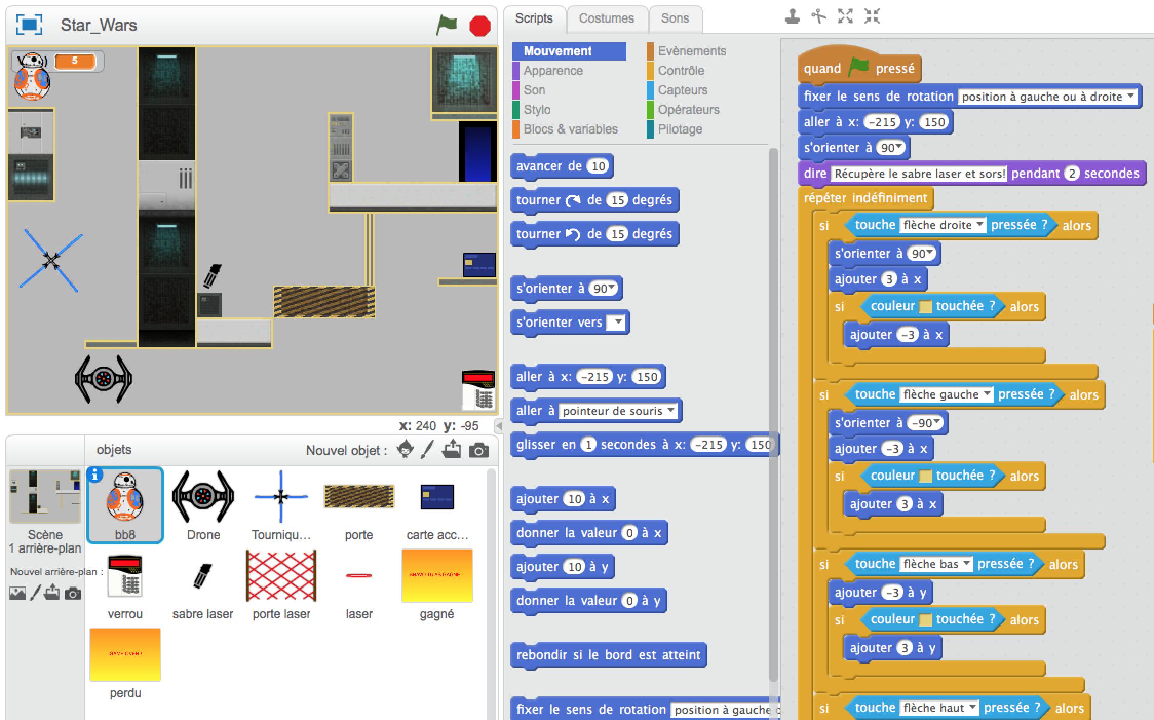 Ateliers hebdos 10-12 - Programmation Scratch