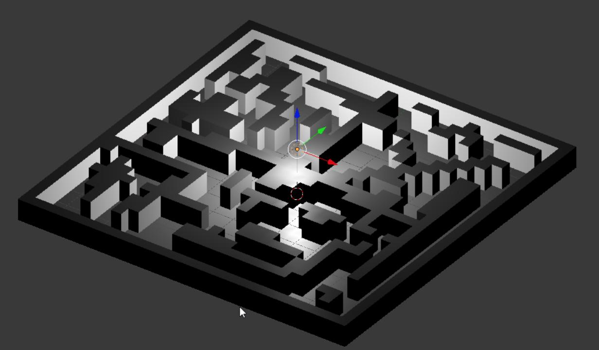 Ateliers hebdos 13-17 ans - Blender maze