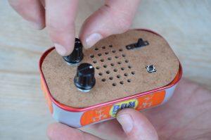 Ateliers hebdos 13-17 ans - Electronique sardine box