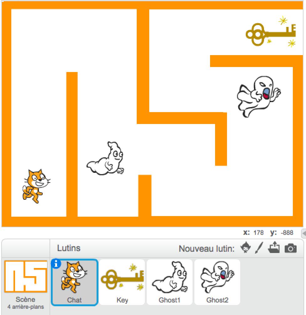 SCRATCH : Halloween maze coding workshop (7-12 yo)