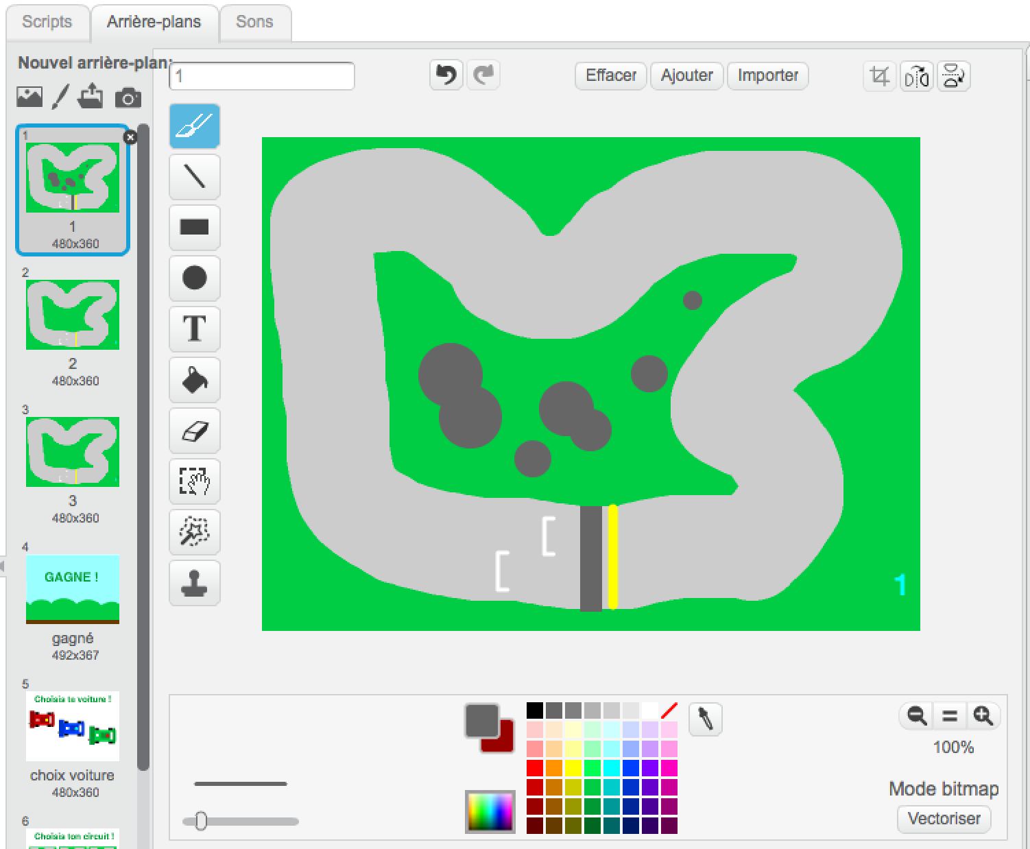 Tech Kids Academy - Scratch - Dessine ton circuit de course