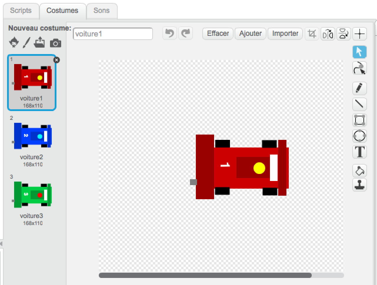 Tech Kids Academy - Stage Scratch - dessiner sa voiture de course