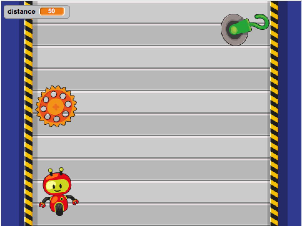 Stage Scratch - Aide ton robot à s'échapper de l'usine
