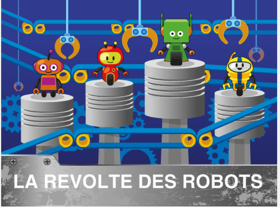 Scratch coding camp - Revolt of robots